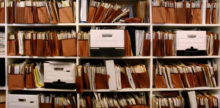 Files on Shelf by Bandi, Flickr