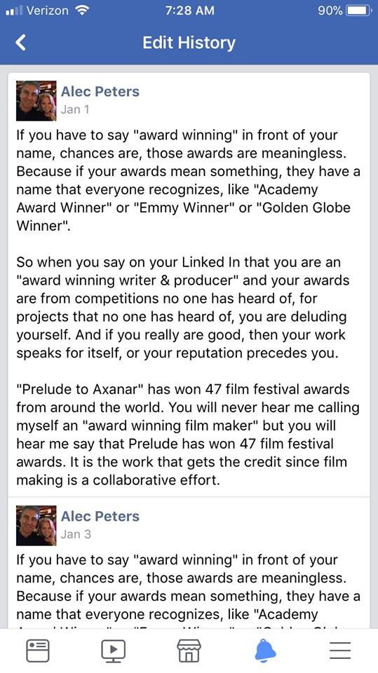 The Story Behind Prelude to Axanar's '47 Awards' [AxaMonitor]